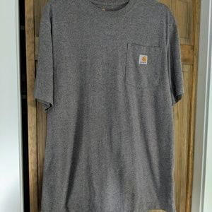 Heather Gray CARHARTT T